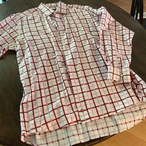 Men's David Donahue Button Up Dress Shirt